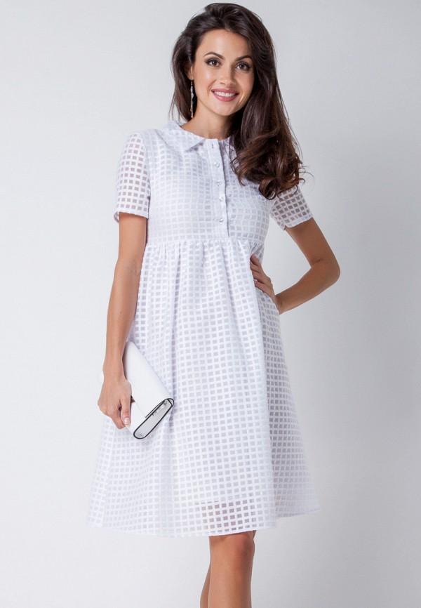 женское платье-рубашки olga skazkina, белое