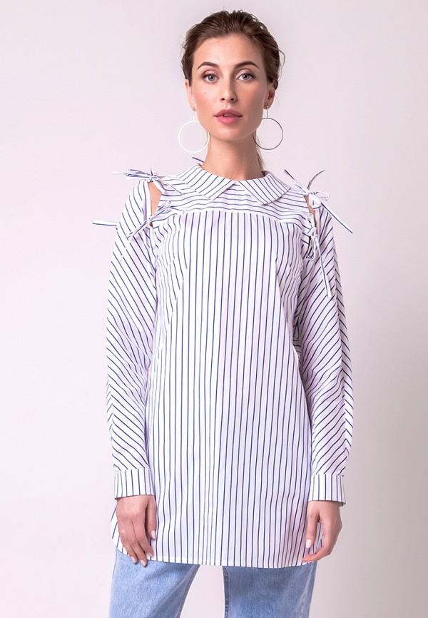 Рубашка Olga Skazkina, MP002XW1APQF, белый, Осень-зима 2017/2018  - купить со скидкой