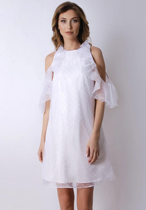женское вечерние платье olga skazkina, белое