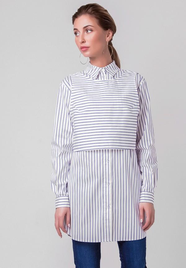 Купить Рубашка Olga Skazkina, mp002xw1apr9, белый, Осень-зима 2018/2019