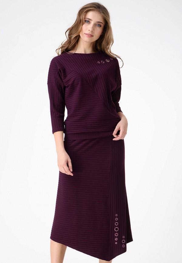 мужской прямые свитшот ricamare, фиолетовый