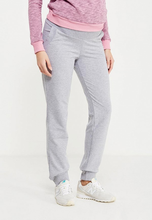 женские спортивные спортивные брюки hunny mammy, серые