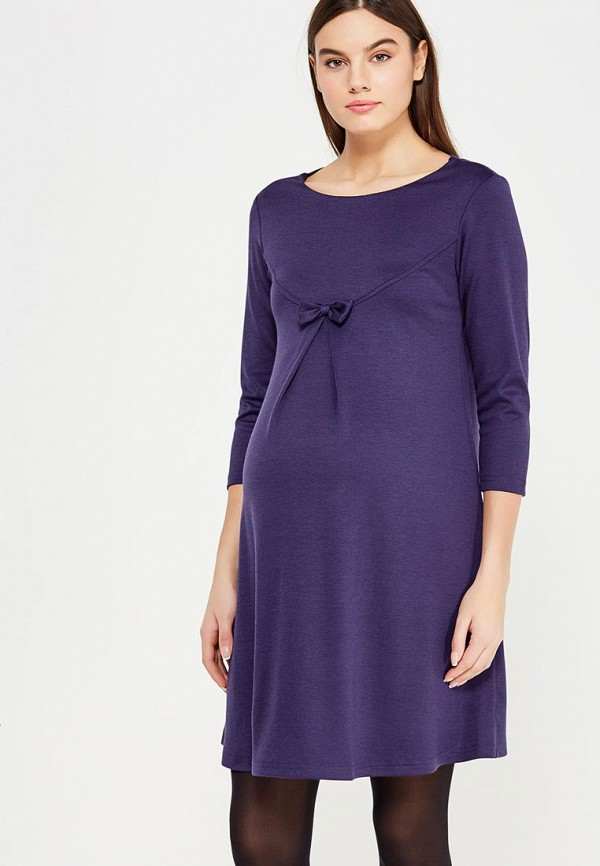 женское повседневные платье hunny mammy, синее