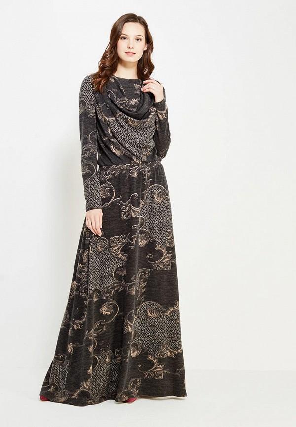 женское повседневные платье sahera rahmani, серое