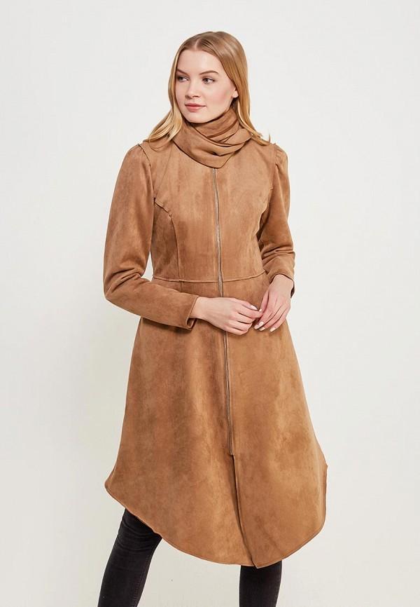 женское пальто sahera rahmani, бежевое