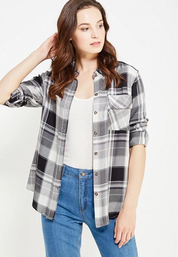 женская рубашка с длинным рукавом cocos, черная