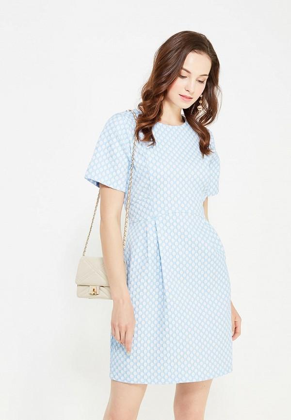 женское платье мини cocos, голубое