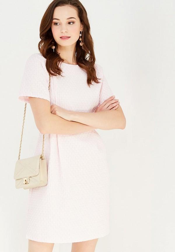 женское платье мини cocos, розовое