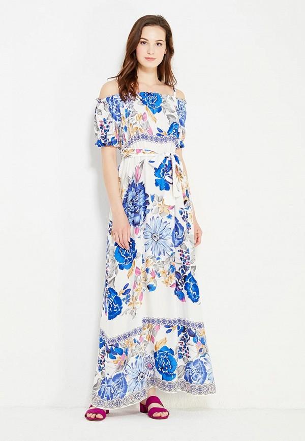 женское платье макси cocos, синее