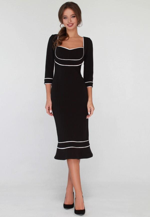 женское повседневные платье anushka by anna pavlova, черное