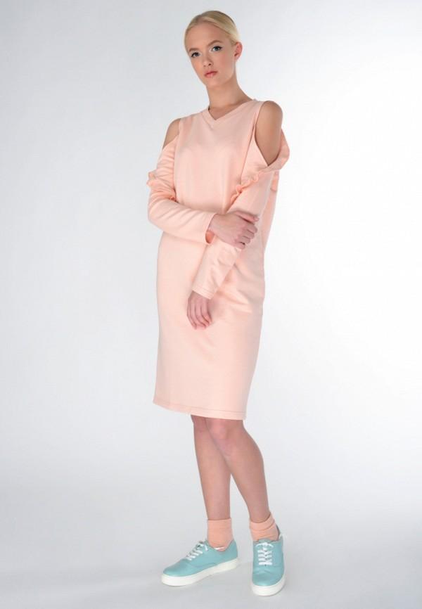 Фото 5 - женское платье Shtoyko бежевого цвета
