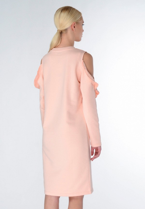 Фото 6 - женское платье Shtoyko бежевого цвета