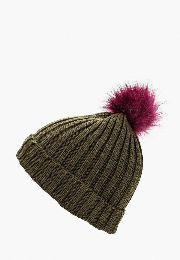 женская шапка colin's, хаки