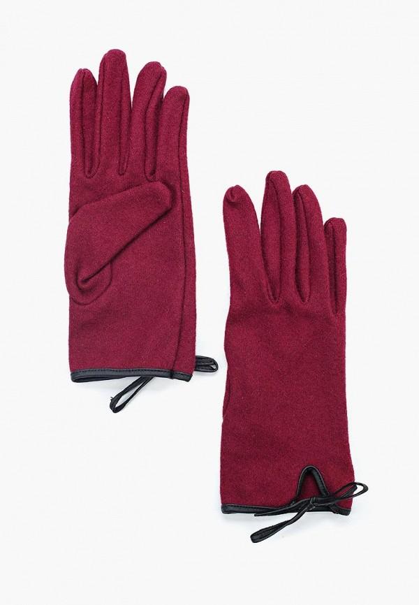 женские перчатки colin's, бордовые