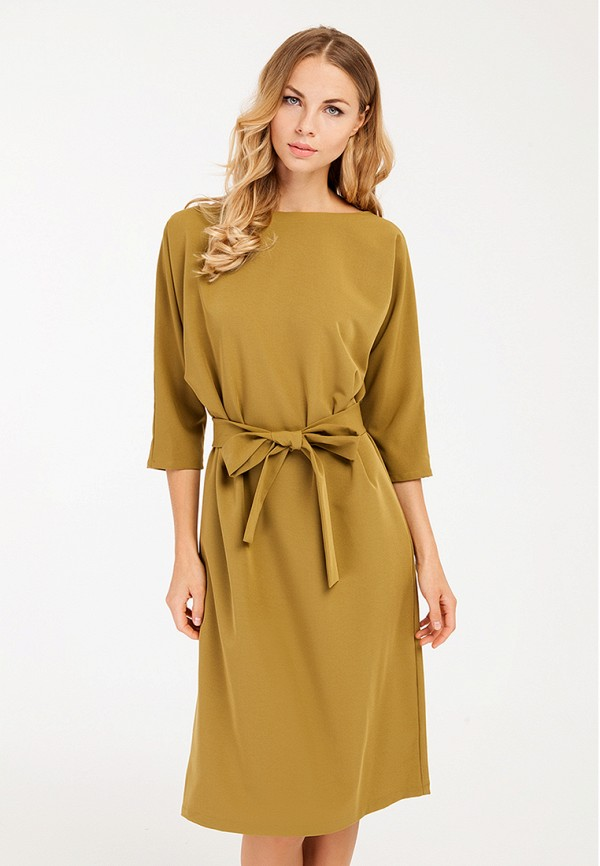 Купить Платье Yaroslavna, Элегия, MP002XW1AS38, коричневый, Осень-зима 2017/2018