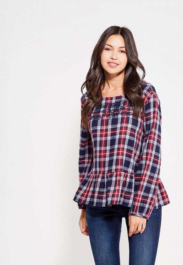 Купить Блуза Colin's, MP002XW1ASD4, синий, Осень-зима 2017/2018