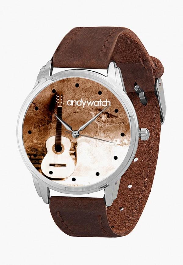 мужские часы andywatch, коричневые