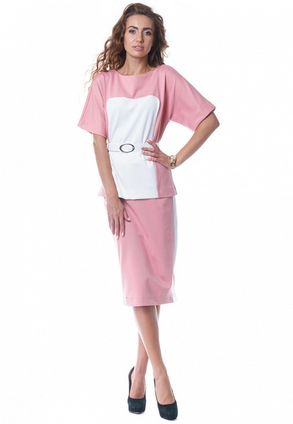 мужской костюм evercode, розовый