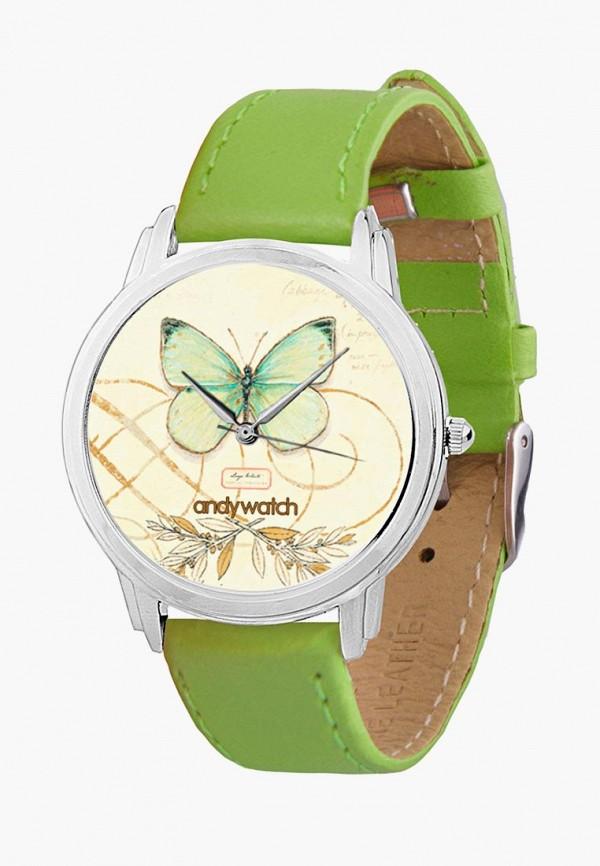 мужские часы andywatch, зеленые