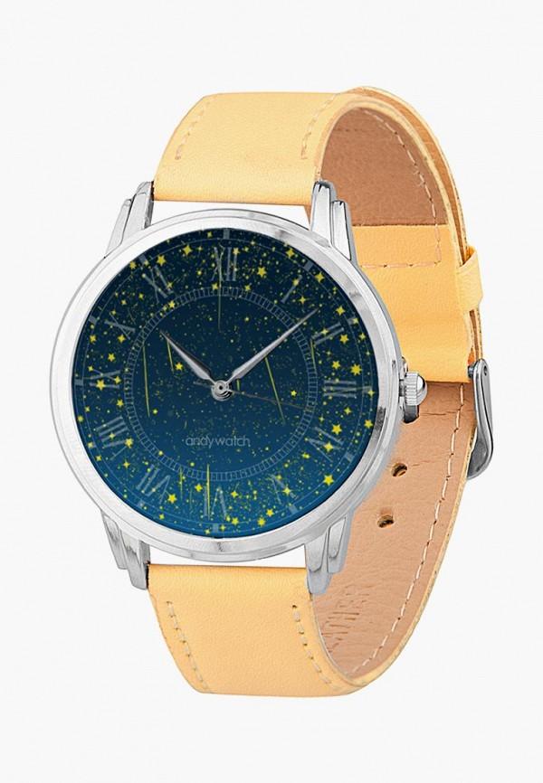 мужские часы andywatch, желтые