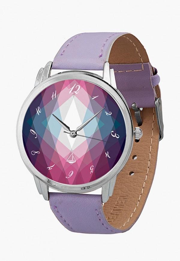 мужские часы andywatch, фиолетовые