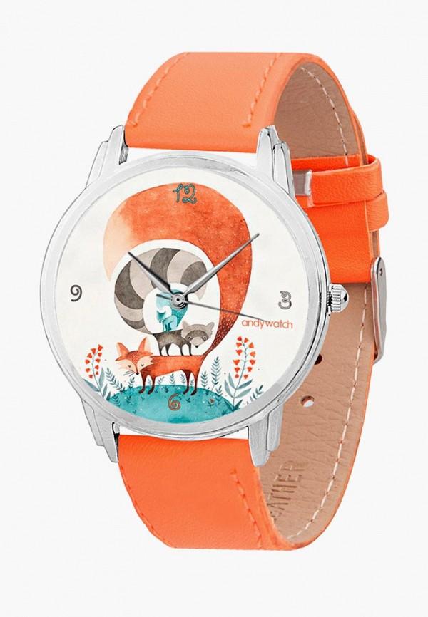 мужские часы andywatch, оранжевые