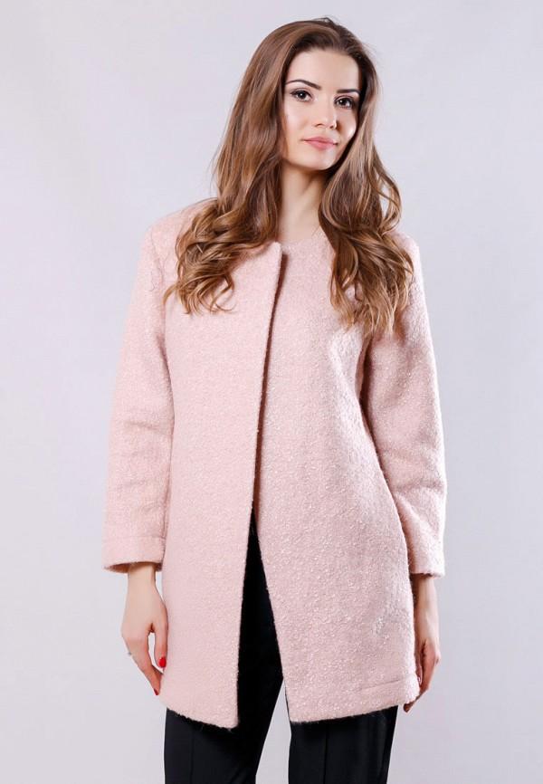 женское пальто sfn, розовое