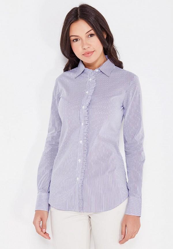 женская рубашка с длинным рукавом cocos, синяя