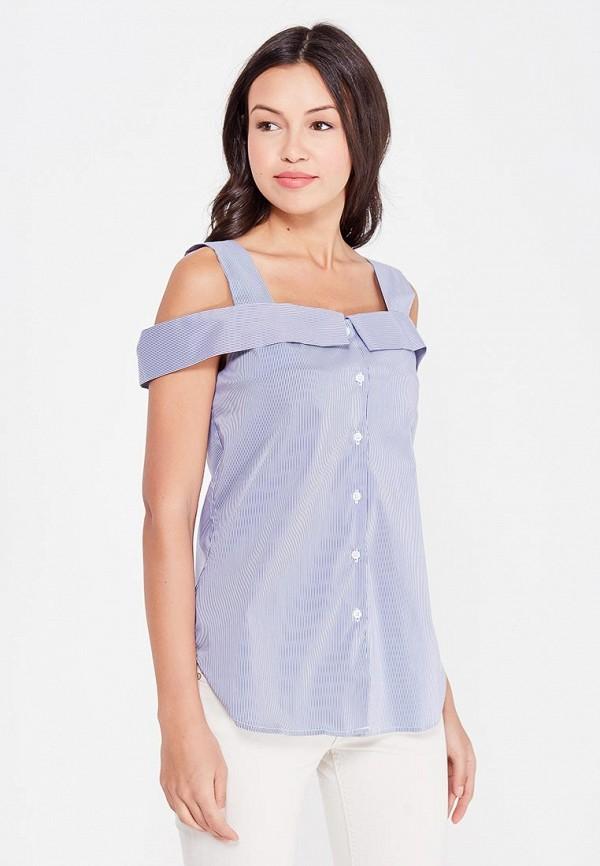 женская блузка cocos, синяя