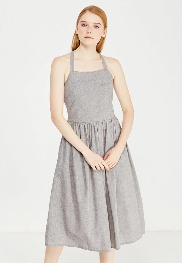 женское повседневные платье cocos, серое