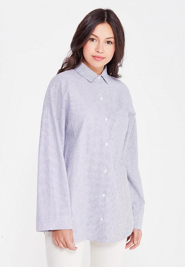женская рубашка с длинным рукавом cocos, серая