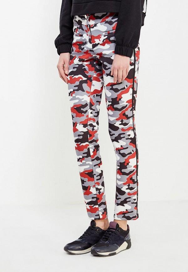 женские зауженные брюки ли-лу, серые