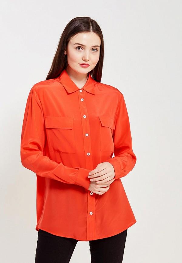 женская блузка ли-лу, красная