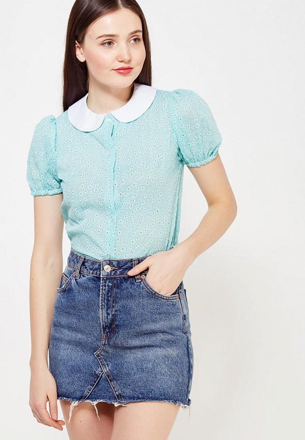 женская блузка ли-лу, разноцветная