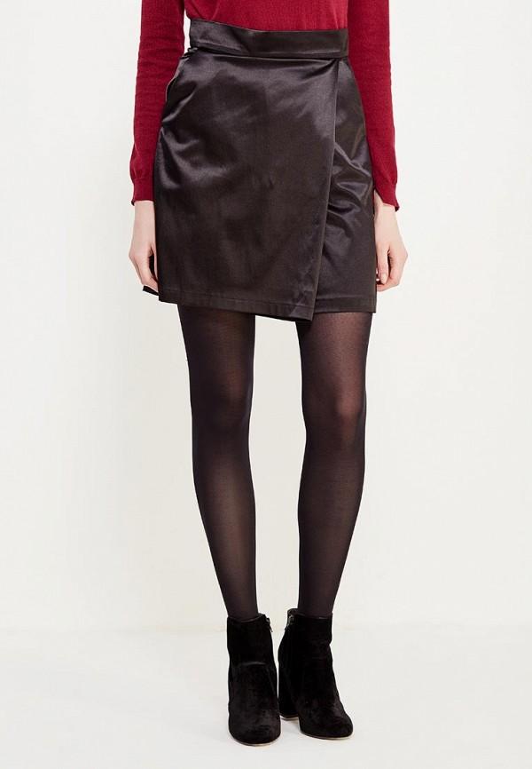 женская юбка ли-лу, черная
