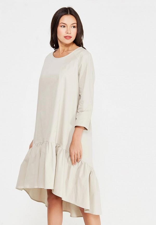 Купить Платье D'lys, MP002XW1AUGE, бежевый, Осень-зима 2017/2018