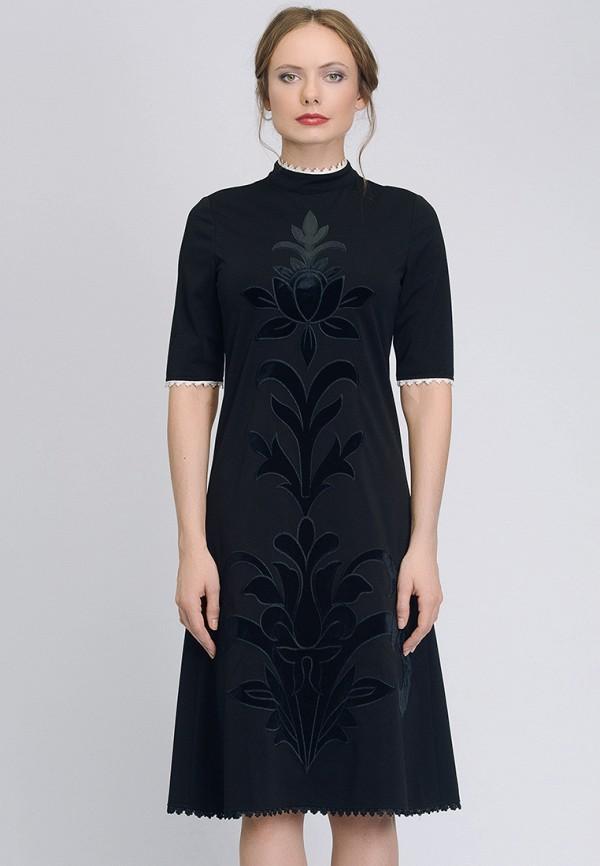 женское повседневные платье cavo, черное