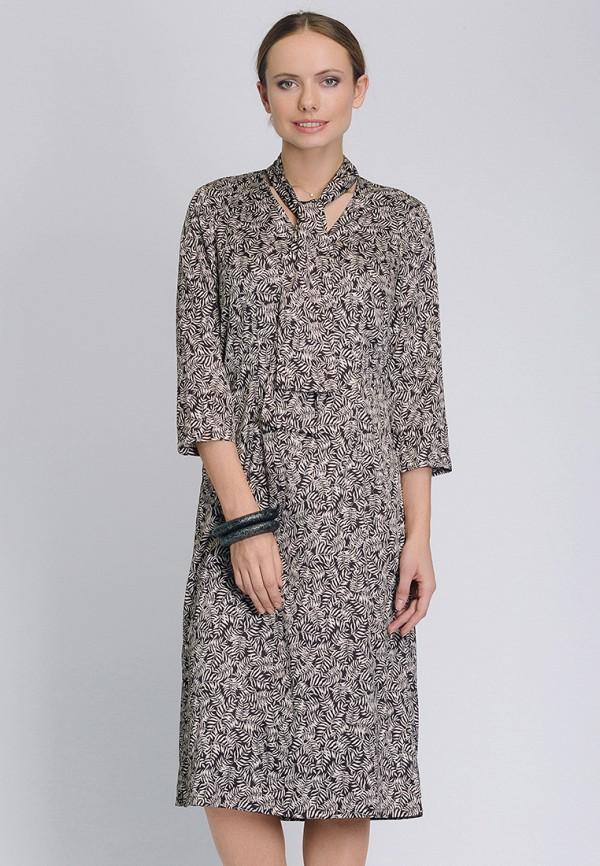 женское повседневные платье cavo, серое