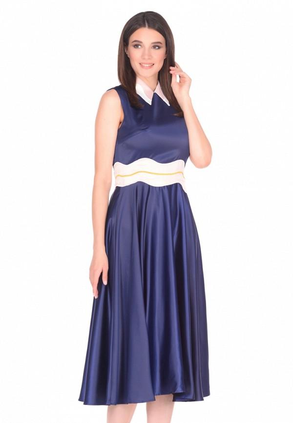 Платье Cavo Cavo MP002XW1AUPW полуприлегающее платье с длинным поясом cavo