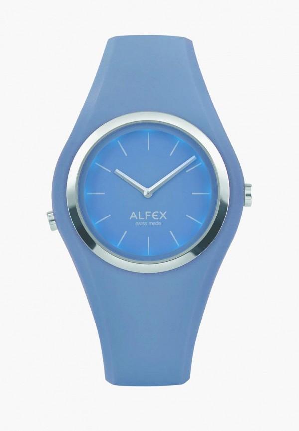 женские часы alfex, синие