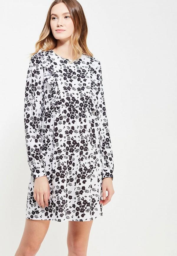 женское повседневные платье ли-лу, белое