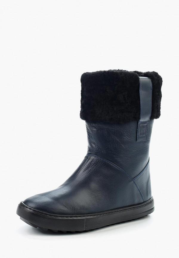 Купить Полусапоги Poblenou, MP002XW1AV22, синий, Осень-зима 2017/2018
