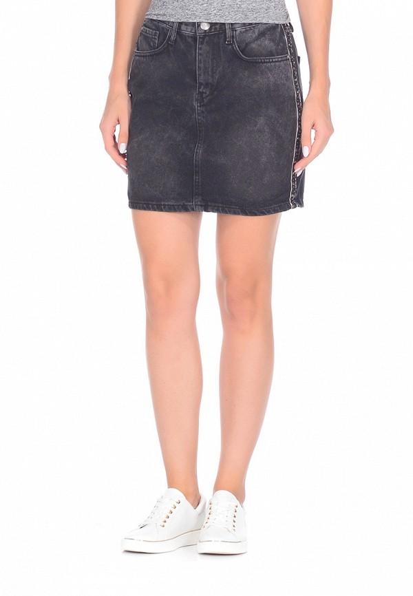 Юбка джинсовая DSHE DSHE MP002XW1AV3H vinemo vorneoco корейская версия высокой талии слот пакет юбка джинсовая юбка юбка юбка r1540 серый xl