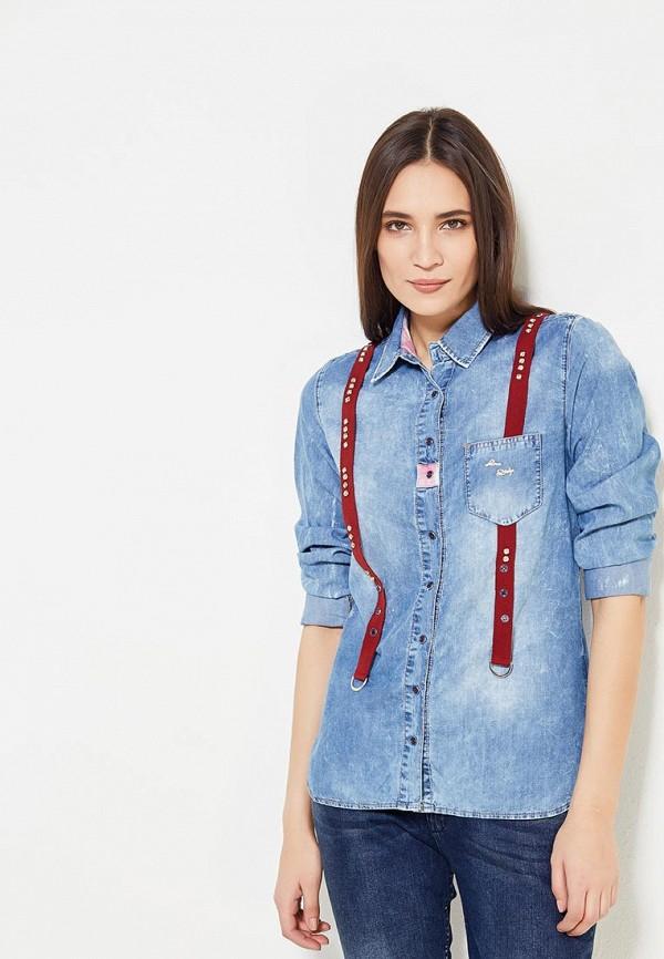 Рубашка джинсовая DSHE DSHE MP002XW1AV57 цена 2017