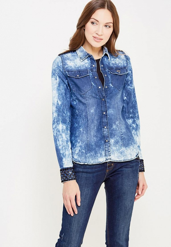 Рубашка джинсовая DSHE DSHE MP002XW1AVAQ недорго, оригинальная цена