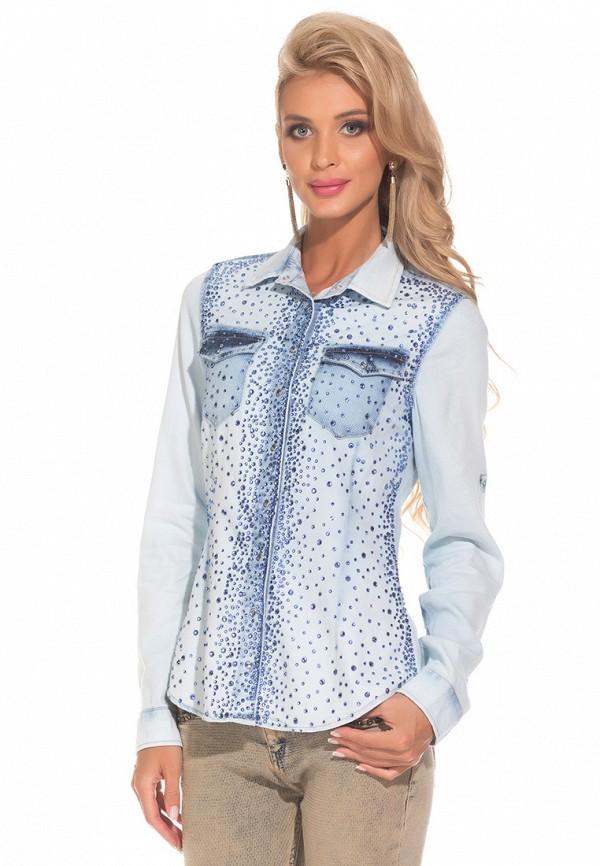 Рубашка джинсовая DSHE DSHE MP002XW1AVBE mcr джинсовая рубашка