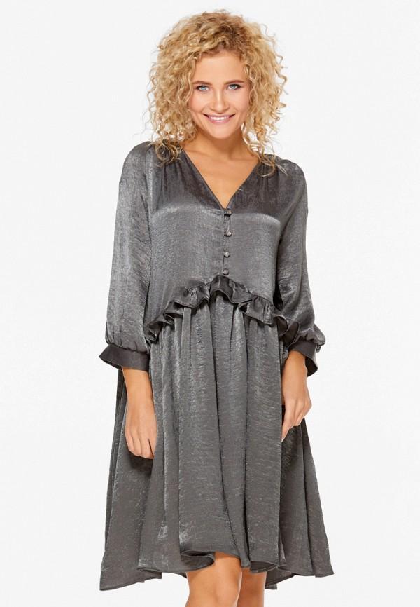 Купить Платье SoloU, mp002xw1avdh, серый, Осень-зима 2018/2019