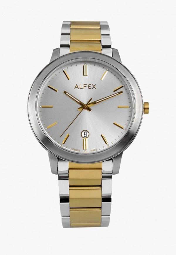 женские часы alfex, золотые