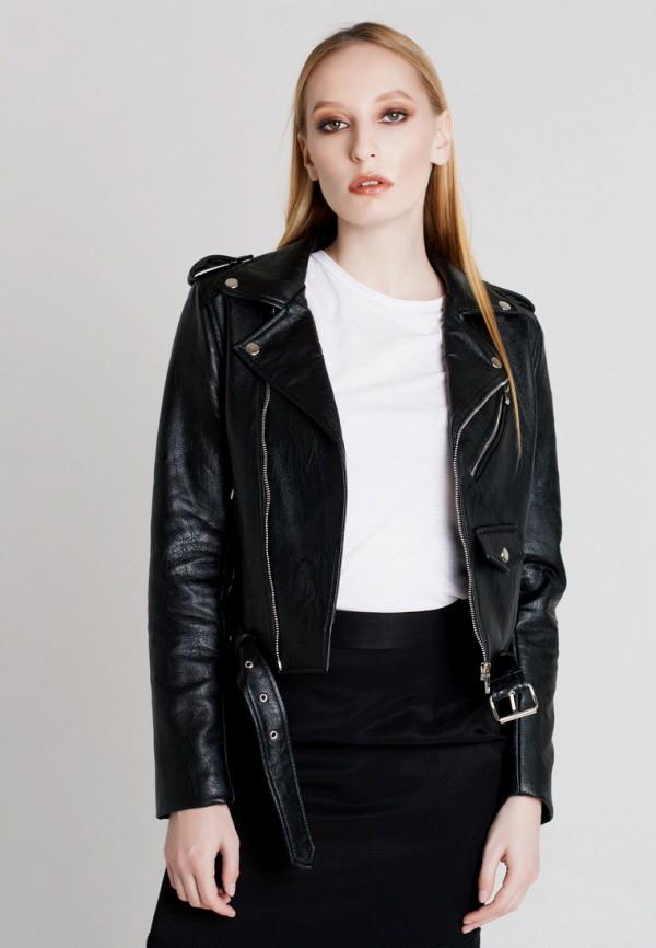 Купить Куртка кожаная UNNA, MP002XW1AXDZ, черный, Осень-зима 2017/2018