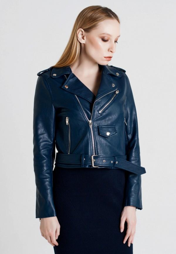 Купить Куртка кожаная Unna, mp002xw1axe0, синий, Осень-зима 2017/2018